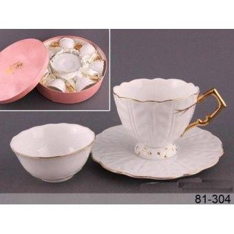 Чайный сервиз Золотая волна (81-304)