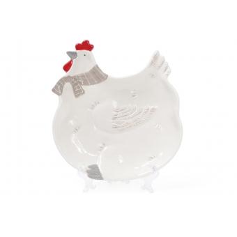 Блюдо Курочка в шарфике (834-721)