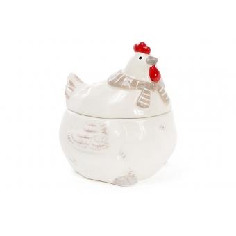Сахарница Курочка в шарфике (834-723)