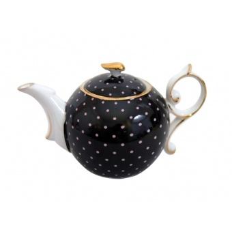 Чайник черный горох 15 см (85-1007)