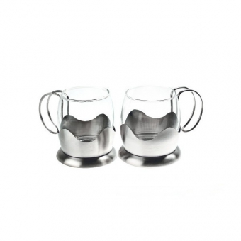 Набор чайных кружек, 2 шт. (8577)