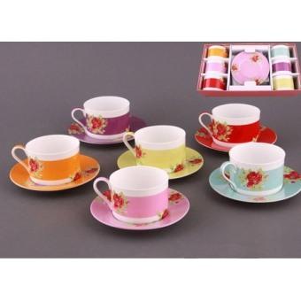 Чайный набор на 6 персон (86-1550)