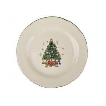 Тарелка Рождественская ёлка (910-131)