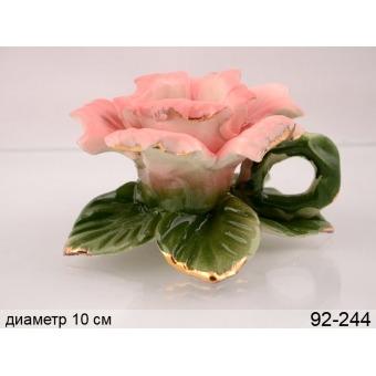 Подсвечник роза (92-244)