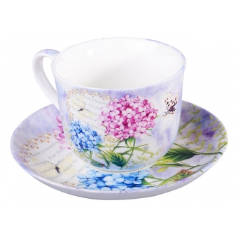 Чашка с блюдцем Весна, 2 пр. (923-003)
