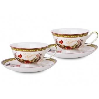 Чайный набор 4 пр. Новогодняя коллекция (924-132)