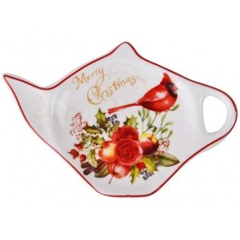 Подставка под чайный пакетик новогодняя коллекция (924-158)