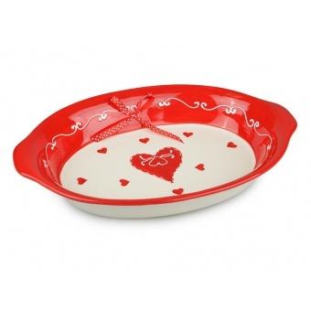 Блюдо для запекания Сердце