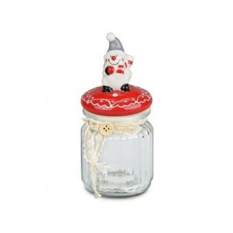 Ёмкость для сыпучих продуктов Снеговик (941-032)