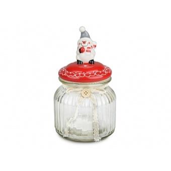 Ёмкость для сыпучих продуктов Снеговик (941-042)