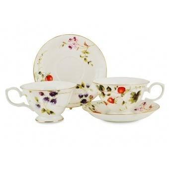 Чайный сервиз лесная ягода, 4 пр. (943-008)