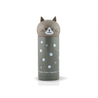 Термос Серый кот (9689)
