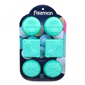 Силиконовая форма для выпечки кексов Подарки Fissman (BW-6735.6)