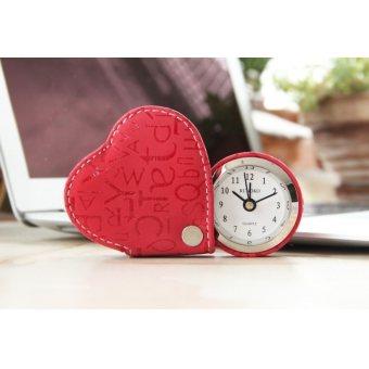 Часы с будильником Runoko (SB-Red)
