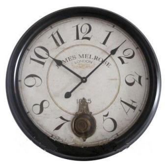 Настенные часы с маятником James Melrose