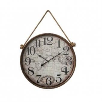 Большие настенные часы Карта (ED11)