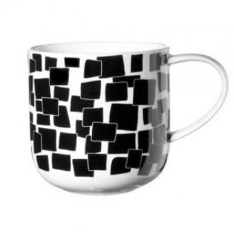 Чашка в подарочной упаковке COPPA Black&White (квадрат) (19102014)