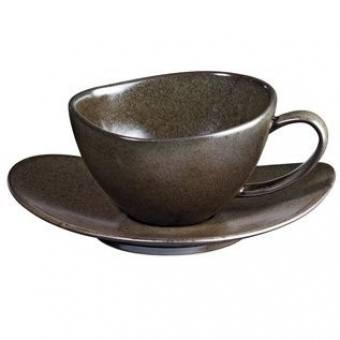 Чашка для чая с блюдцем CUBA MARONE (1228422)