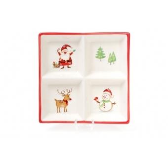 Менажница Веселый Санта (DM049-X)