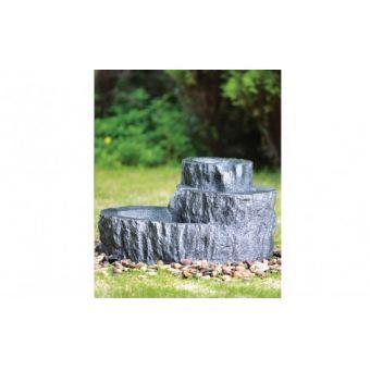 Декоративный фонтан Каменный пень