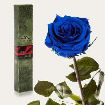 Долгосвежая роза Синий сапфир 5 карат (1115-BL03)