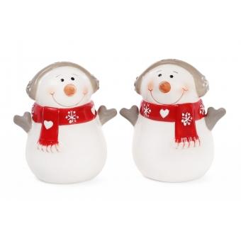 Набор для специй Снеговики в шарфиках (834-185)
