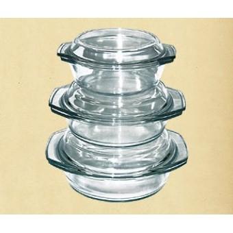 Набор термостойкой посуды с крышками (GW-711EF)