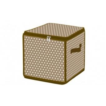 Пластиковый короб на молнии Горошек (ESH05 SL)