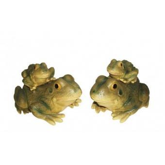 Декоративная фигурка для сада 2 жабки