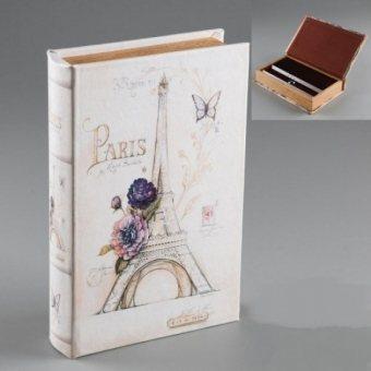 Книга сейф Эйфелева башня