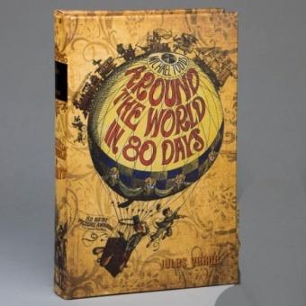 Книга сейф Вокруг света за 80 дней