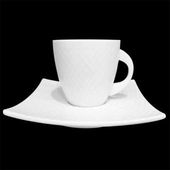 Набор чашек с блюдцами (H5-009)