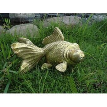 Садовая фигурка Золотая рыбка