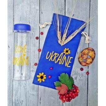 Бутылка для напитков I love Ukraine (MB-UKR)