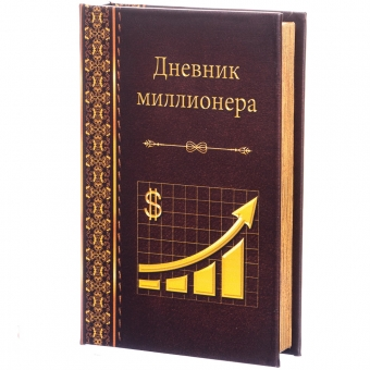 Книга-сейф Дневник миллионера (111UE)