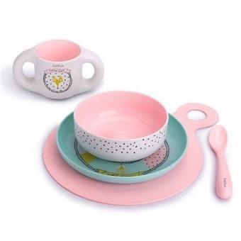 Набор посуды детей Suavinex Hello Fox (REF 3158373-1)
