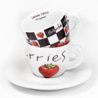 Чашки для эспрессо Fragola (29725)