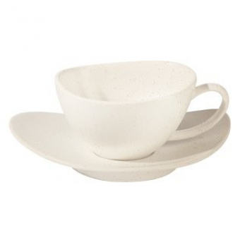 Чашка для чая с блюдцем Cuba Crema (1228421)