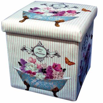 Пуф складной Цветочный аромат (07-025)