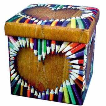 Пуф складной Цветные карандаши (07-019)