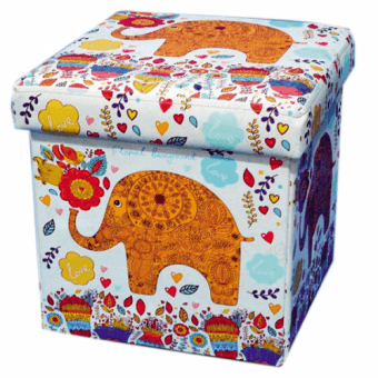 Пуф складной Индийский слоник
