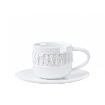 Чайная чашка с блюдцем Laine Blanche (90510088)