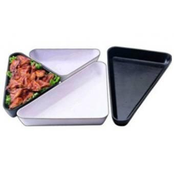 Салатник треугольный белый (SFT 1220-W)