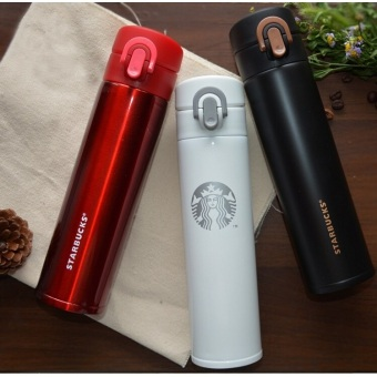 Термос Starbucks красный