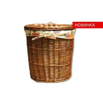 Высокая корзина для белья Цветок, 1 шт. (TB38B-L)