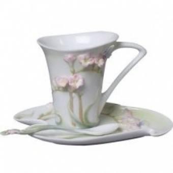 Чашка с блюдцем Фрезия Unicorn Studio (AA20158)